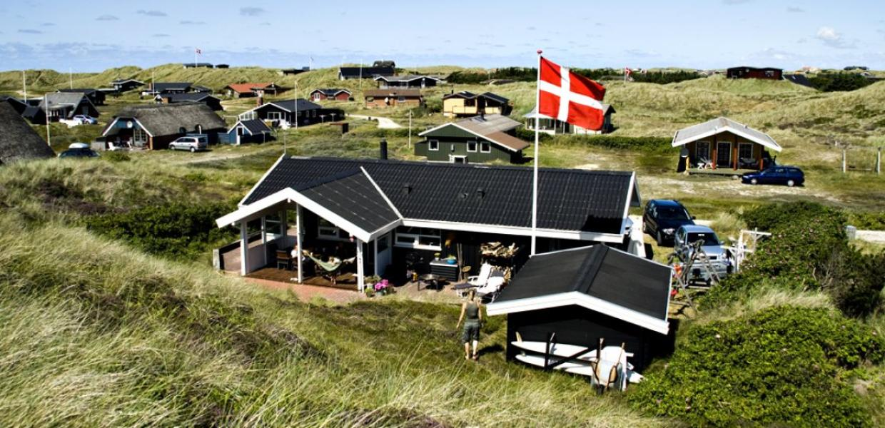 Holiday house at the North Sea